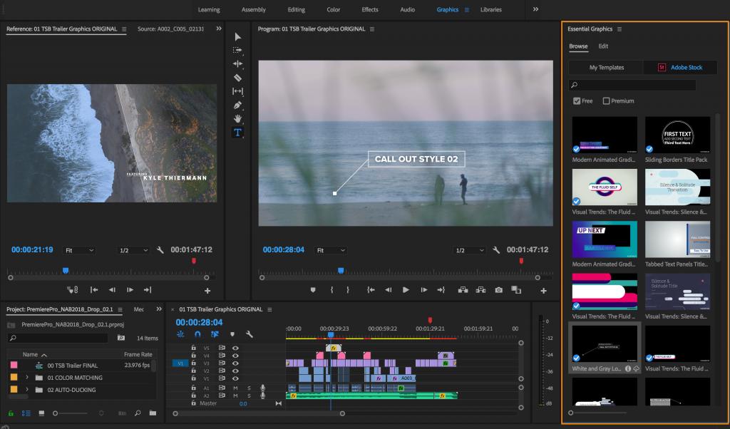 aplikasi Adobe Premiere Pro untuk video