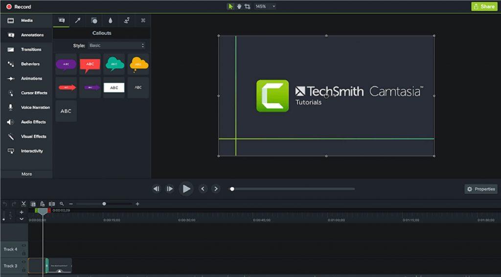 aplikasi  Camtasia untuk video