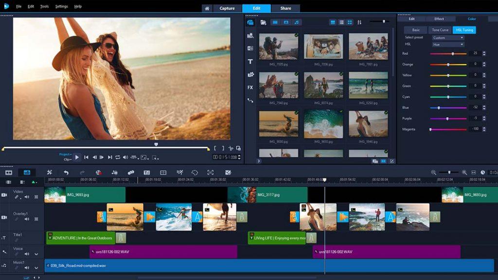 aplikasi Corel Video Studio untuk video