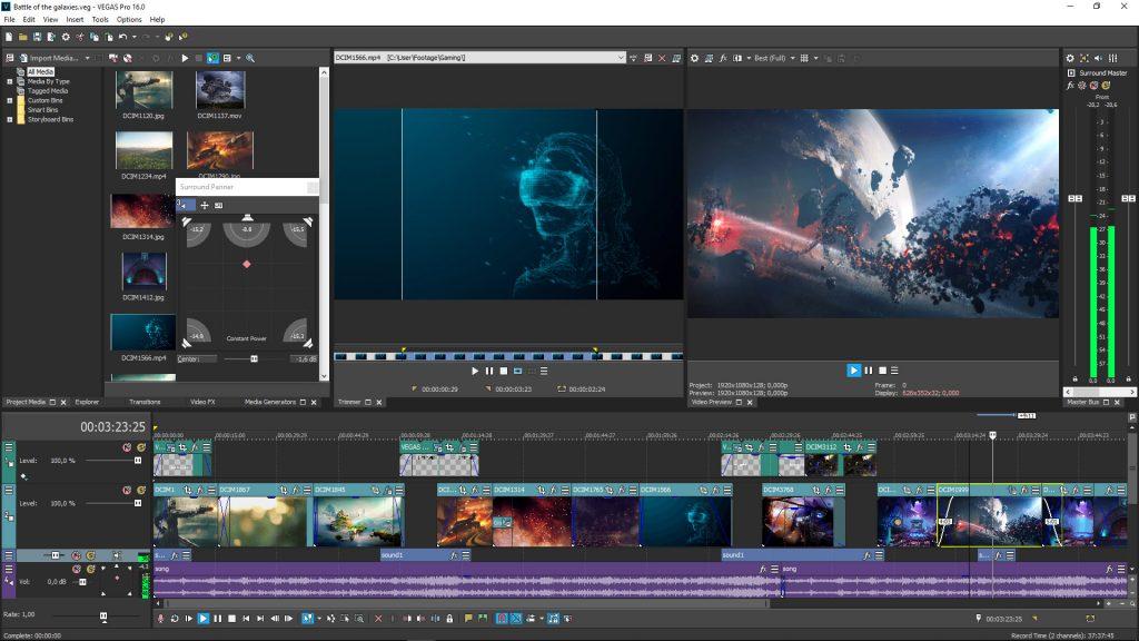 aplikasi Sony Vegas Pro untuk video