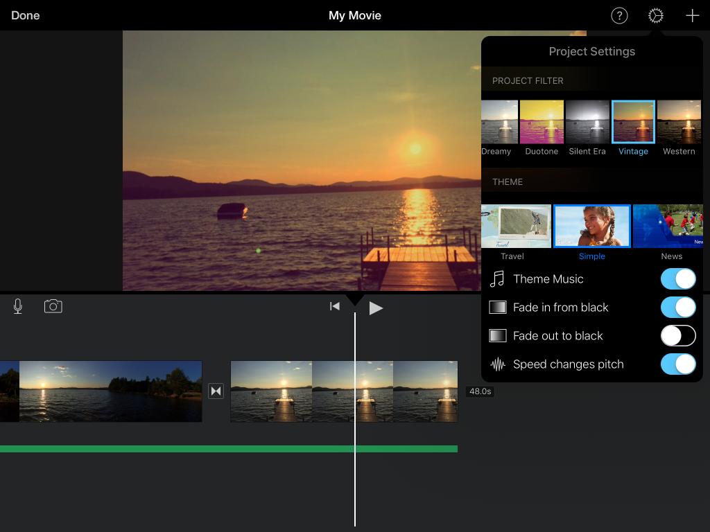 aplikasi iMovie untuk video